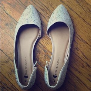 Sparkly party flats!